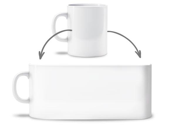 Tassen bedrucken lassen - Tassendruck mit Foto oder Logo