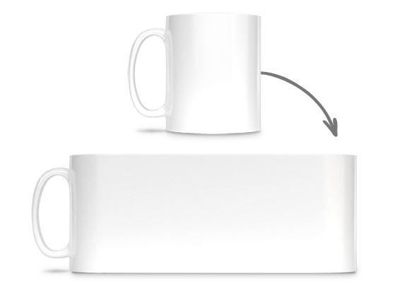 Farbige Tasse bedrucken   bunte Tasse selbst gestalten